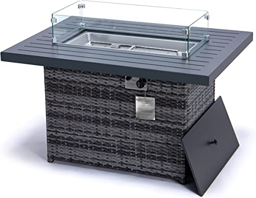 Deal of the week: YeSea Outdoor fire it Coffee Table 44″ Rectangle Propane fire Pit