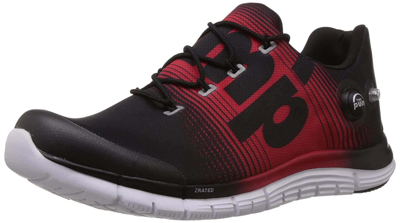 UK Shoes Store  Fox Mens Motion Elite II Shoe WhiteRed Cross Training Running Sports White