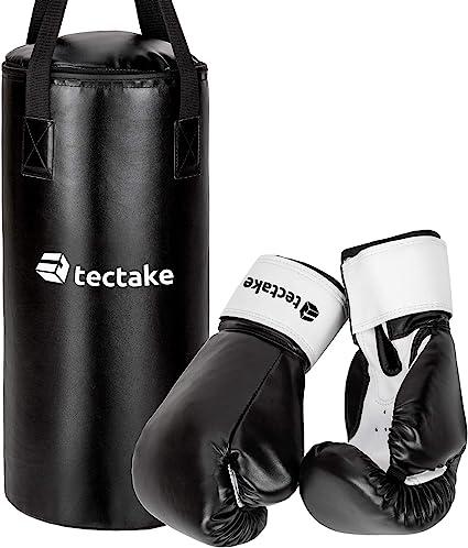 ScSPORTS® Boxsack Kinder Set gefüllt 5,5 kg Sandsack Boxhandschuhe Boxset