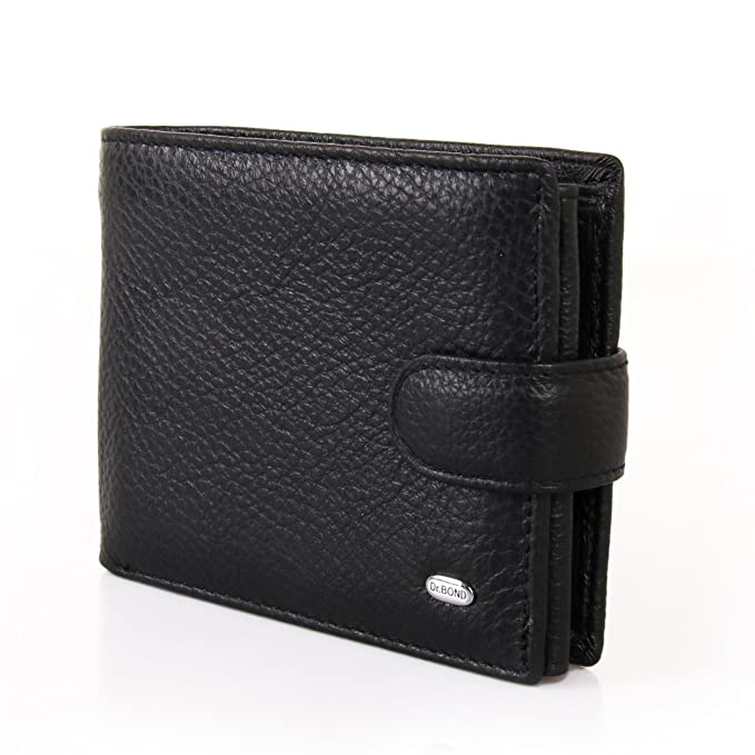 3bf8195e0b12 Dr.Bond MS-17 Men's Genuine Leather Wallet: Amazon.ca: Clothing &  Accessories