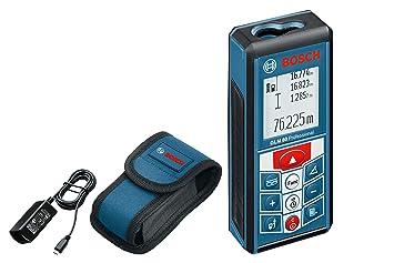 Bosch Professional GLM 80 - Medidor láser de distancias (batería ...