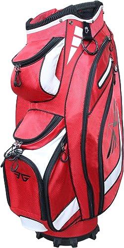 EG EAGOLE Eagole Super Light Golf Cart Bag,14 Way Top and Full Length Divider,9 Pocket