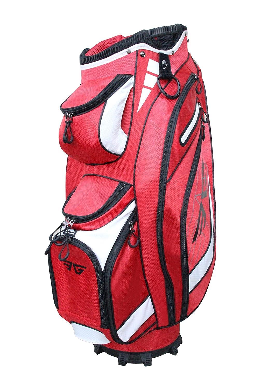 新しい到着 eagoleスーパーライトゴルフカートバッグ、14 レッド B071NBQ9PV wayフル長仕切り、9ポケット B071NBQ9PV レッド レッド レッド, fr-air株式会社:a3672902 --- arianechie.dominiotemporario.com