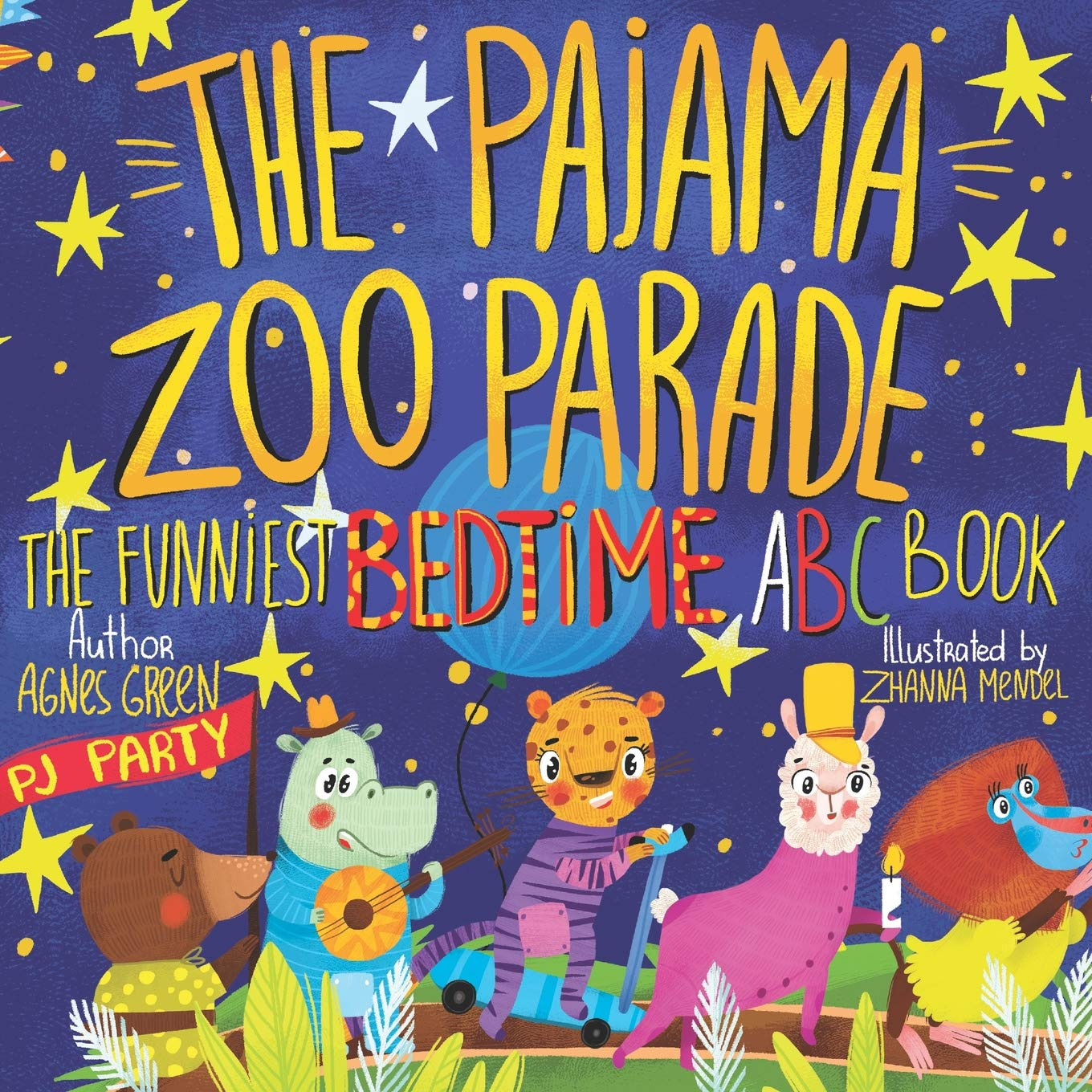 Read Online The Pajama Zoo Parade: The Funniest Bedtime ABC Book (The Funniest ABC Books) ebook