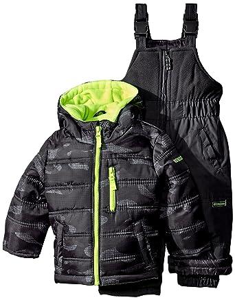 bd366fe0b96e Amazon.com  Osh Kosh Baby Boys  Heavyweight Snowsuit