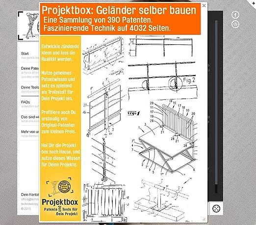 Interessant Geländer selber bauen: Deine Projektbox inkl. 390 Original  BZ88