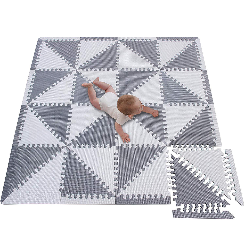 tappetino da gioco in gommapiuma tappetino da gioco grande per bambini Tappetino da gioco in schiuma con piastrelle in schiuma morbido e non tossico