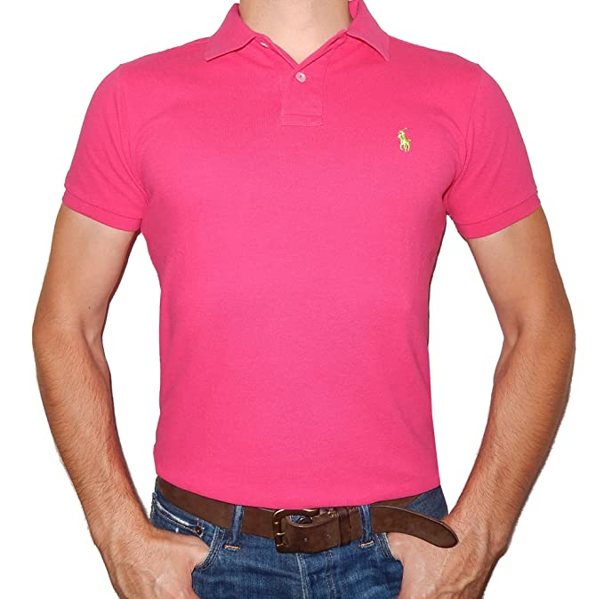 Fit Custom Polo Ralph Lauren Malla Para esRopa HombreAmazon bY6gv7yf
