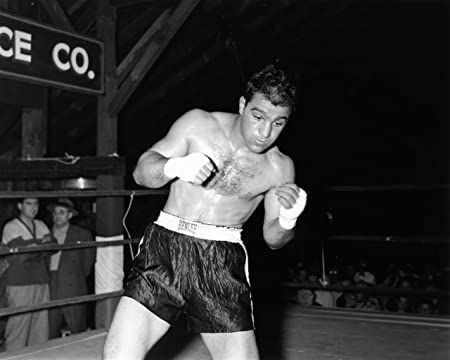 Rocky marciano boxing poster approximate size 11 7 x 16 5