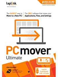 Laplink Software PCmover Ultimate 11 - 1 Use with SuperSpeed USB 3.0 Cable