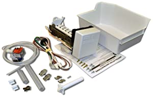 Whirlpool 1129316 Whirlpool Refrigerator Ice Maker Kit for Whirlpool, KitchenAid, Roper, and Inglis