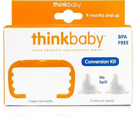 Amazon.com: Thinkbaby Biberón para Sippy Copa Conversión/Kit ...