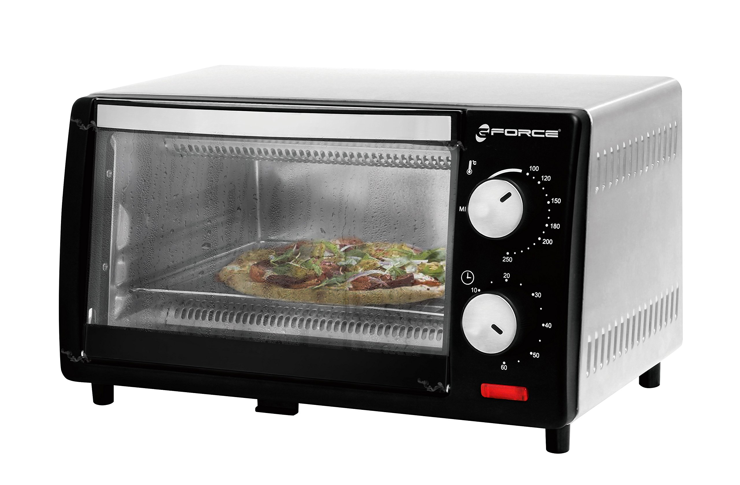 GForce Toaster Oven, Stainless Steel 9-Liter, 800W, 120-Volt (USA&CANADA) – ETL Approved