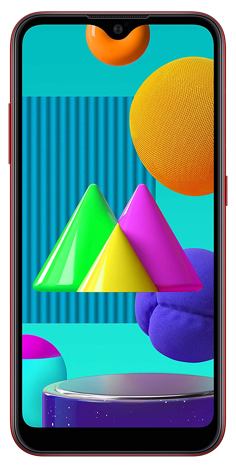 Samsung Galaxy M01 (Red, 3GB RAM, 32GB Storage) with No Cost EMI/Additional Exchange Offers