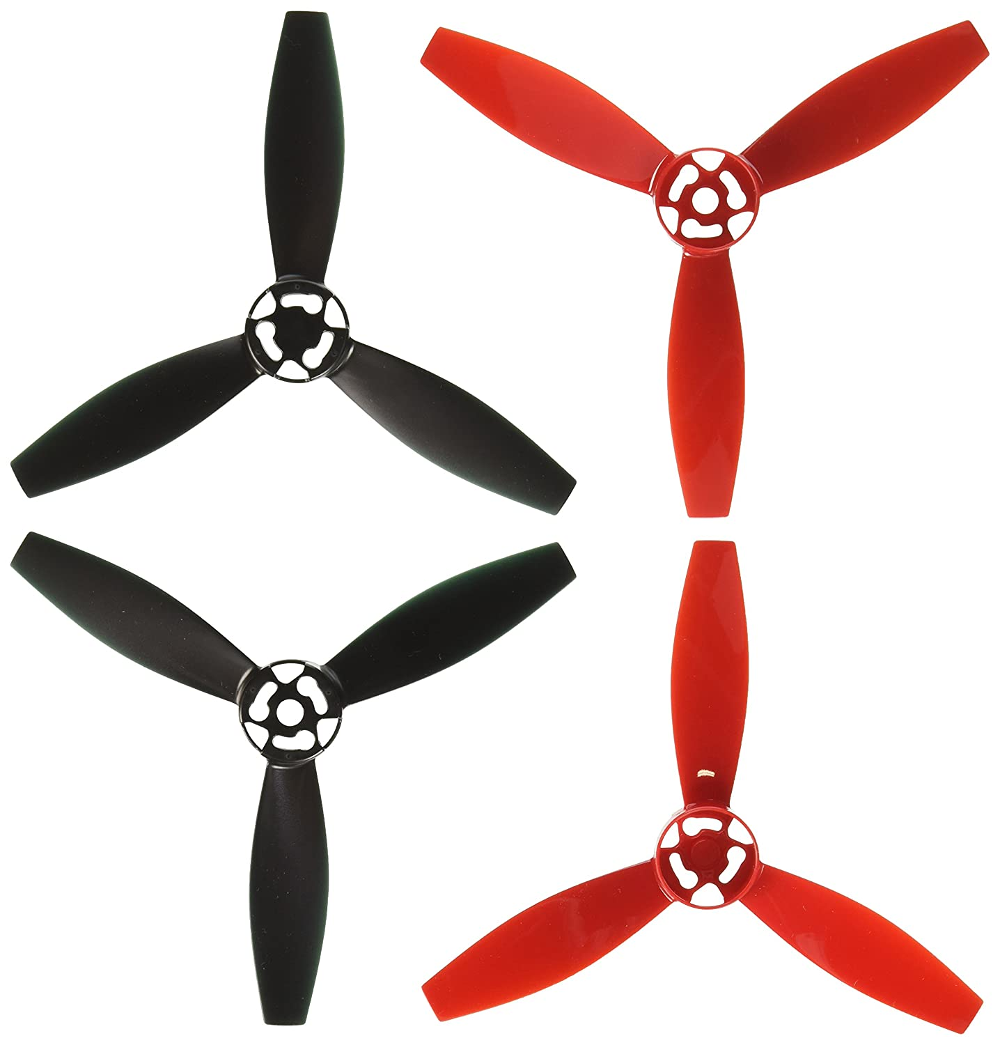 Parrot PF070219 Bebop 2 Drone Propellers, Red Parrot Inc.