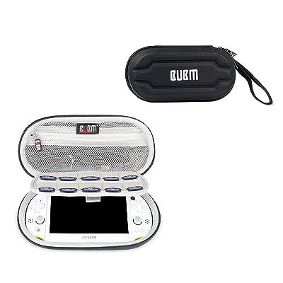 Étui ps vita,EVA Pochette Étui Boîtier Housse coque sacoche portable de Voyage pour PS Vita PSV Console et Accessoires Noir