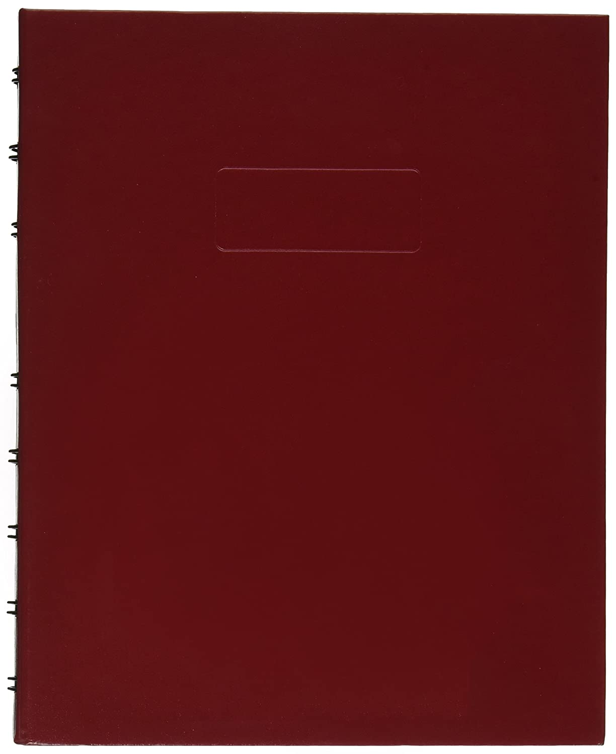 Blueline NotePro Notebook 9.25x7.25-Inch 192 Pages, Red (A9C.83)