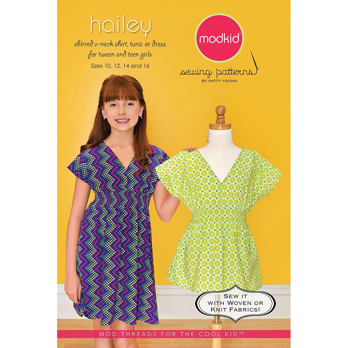 Modkid Sewing Patterns, Hailey by ModKid   B00GMRC2D8