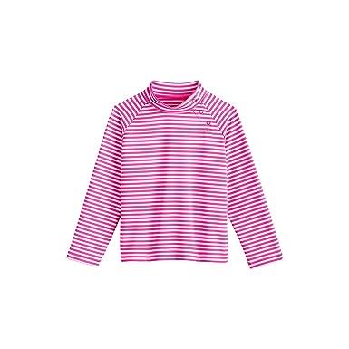 76b4182f4 Amazon.com: Coolibar UPF 50+ Baby Wave Rash Guard - Sun Protective: Infant  And Toddler Sun Protective Swimwear: Clothing