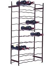 Bouchonnerie Jocondienne SO50 Casier à Bouteilles métal 50 Places, Bordeaux, 55 x 115 x 4,5 cm