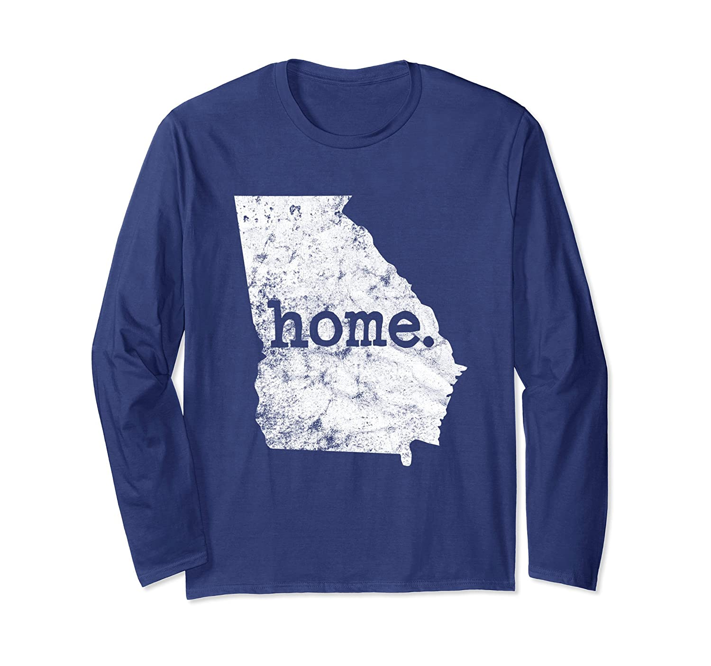 Georgia Home State Pride Long Sleeve T-Shirt Gift-Awarplus