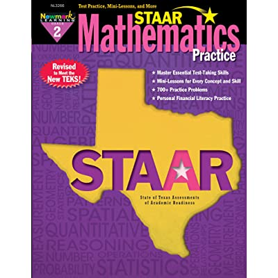 Newmark Learning Grade 2 Staar Math Practice Aid: Toys & Games