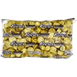REESE'S Holiday Chocolate Candy, Peanut Butter Cup Miniatures, Gold Foils, 4.1 Pounds Bulk Candy Gift