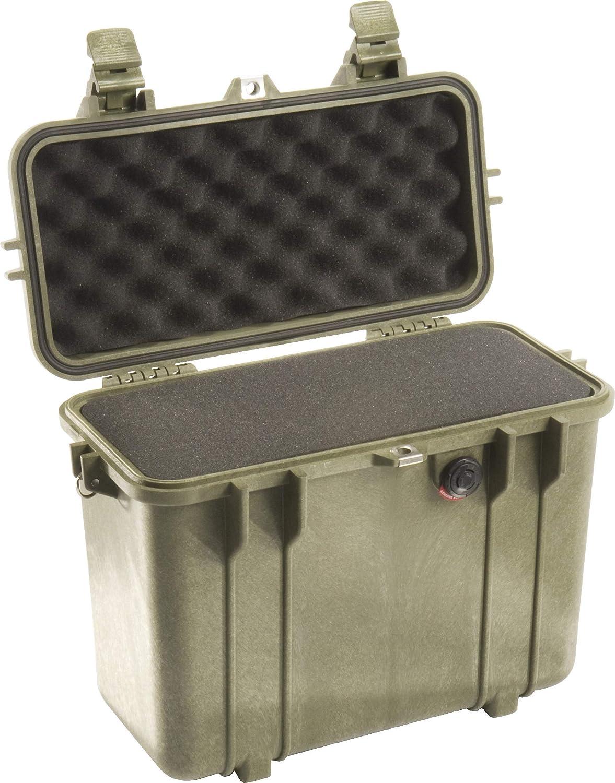 Orange Pelican 1430 Camera Case With Foam