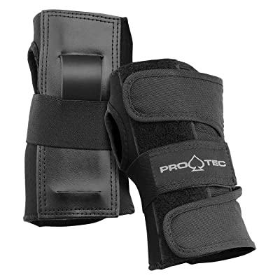 Pro-Tec Street Wrist Black L : Skate And Skateboarding Wrist Guards : Sports & Outdoors