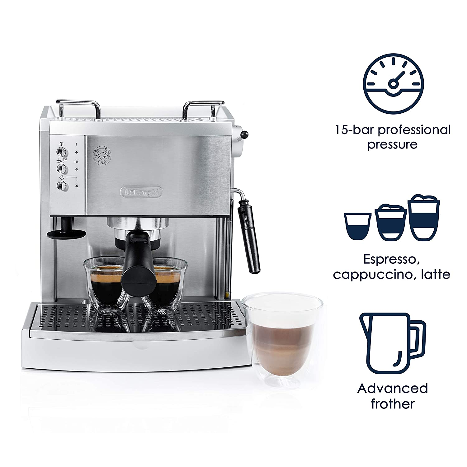 DeLonghi EC702 Espresso Maker Review 2020