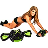 AbDominator Ab Roller Ab Wheel: Ab Workout Exercise Equipment