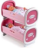 Smoby - 024217 - Jeu D'imitation - Lits Jumeaux pour poupée - Baby Nurse