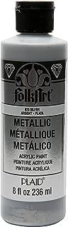 product image for FolkArt 8 oz Acrylic Paint, Silver Metallic