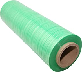 1000 Length x 18 Width x 120 Gauge Thick Case of 4 Goodwrappers PVT18120 Linear Low Density Polyethylene Clear Cast Hand Stretch Wrap On a 3 ID Core