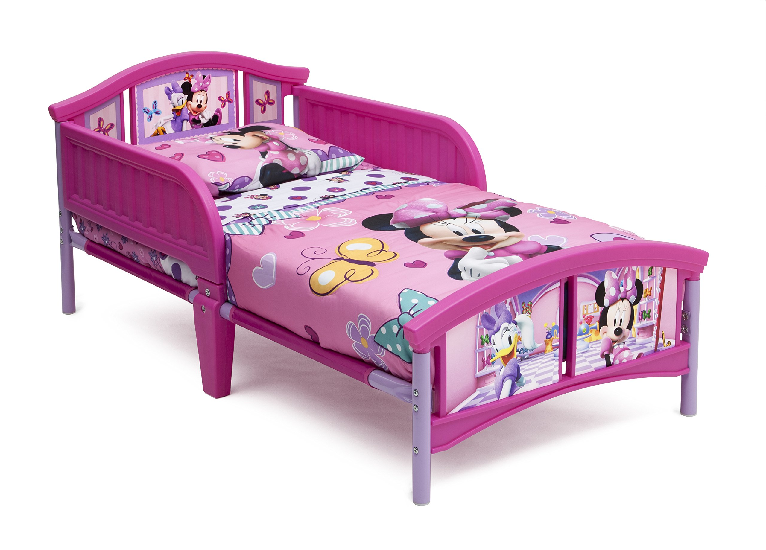 Delta Children Plastic Toddler Bed Disney Minnie Mouse