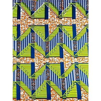 Premier African Fabric Dutch Real Wax Block Print Hollandais 100 ... bd12b95d31