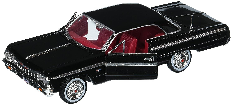 24 W//B American Classics 1964 Chevrolet Impala Hardtop MJ Exclusive Die-Cast Vehicle Black Motor Max 1