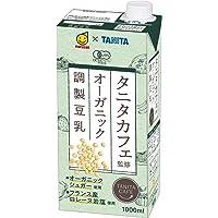 マルサン タニタ カフェ監修 オーガニック 調製豆乳 1000ml×6本