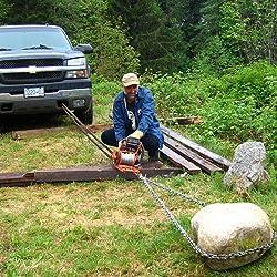 Lewis 400 MK2 Chainsaw Winch