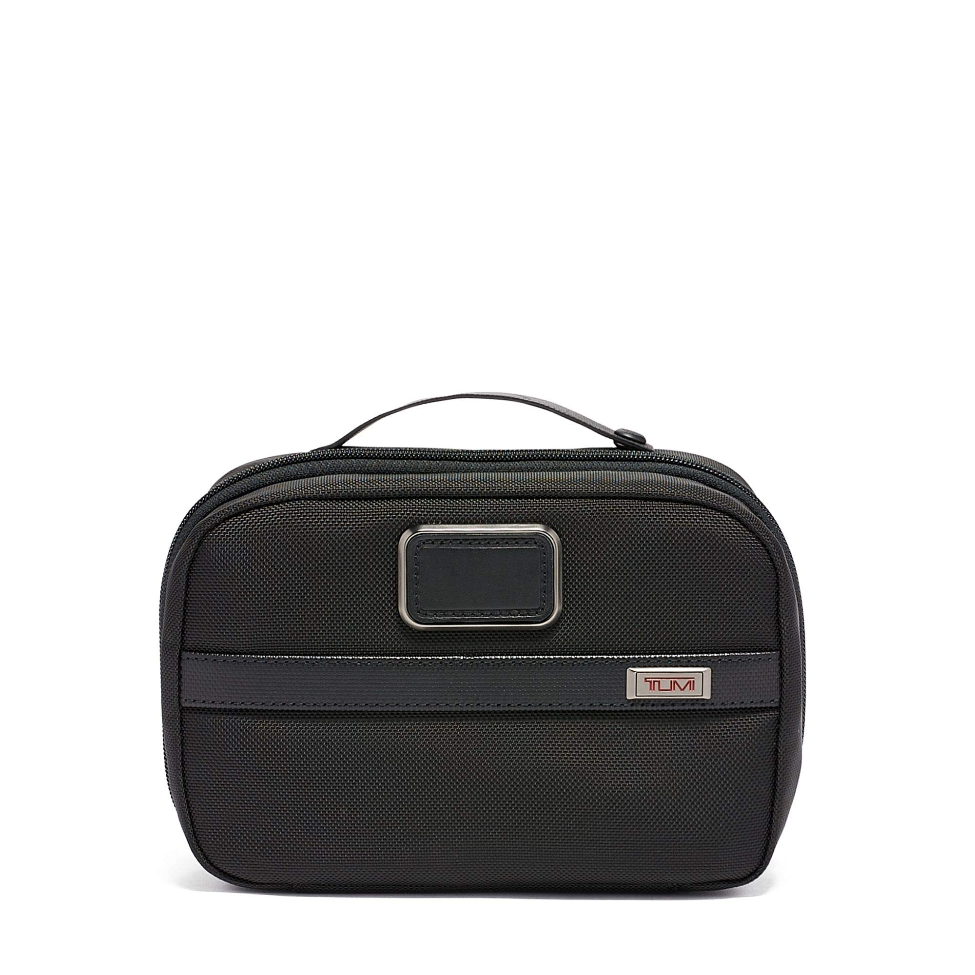 TUMI - Alpha 3 Split Travel Kit - Luggage Accessories Toiletry Bag for Men and Women - Black by TUMI