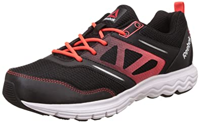 0388dea30 get reebok mens fuel race black red silver and white running shoes 10 uk  66fe3 ab6e4