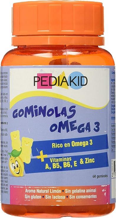 Ineldea Pediakid Gominolas Omega 3-60 Gominolas: Amazon.es: Salud y cuidado personal