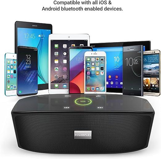 POWERFLEX PF-AZ01-Z003 - USB, Bluetooth: Amazon.es: Informática