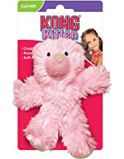 KONG Kitten Teddy Bear Cat Toy (Color Assorted)