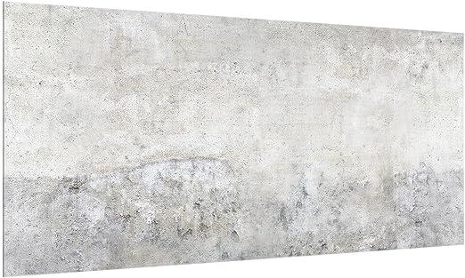 Bilderwelten Glas Spritzwand 59 X 120 Cm Shabby Beton Glaspaneele Kuchenruckwand Amazon De Kuche Haushalt