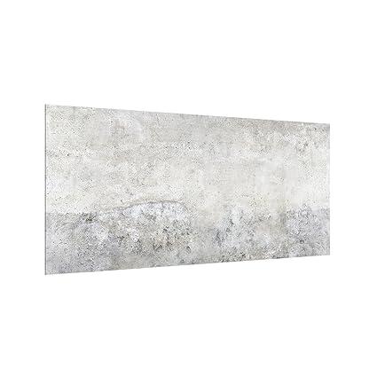 Bilderwelten Paraschizzi in vetro - Shabby Concrete Look ...