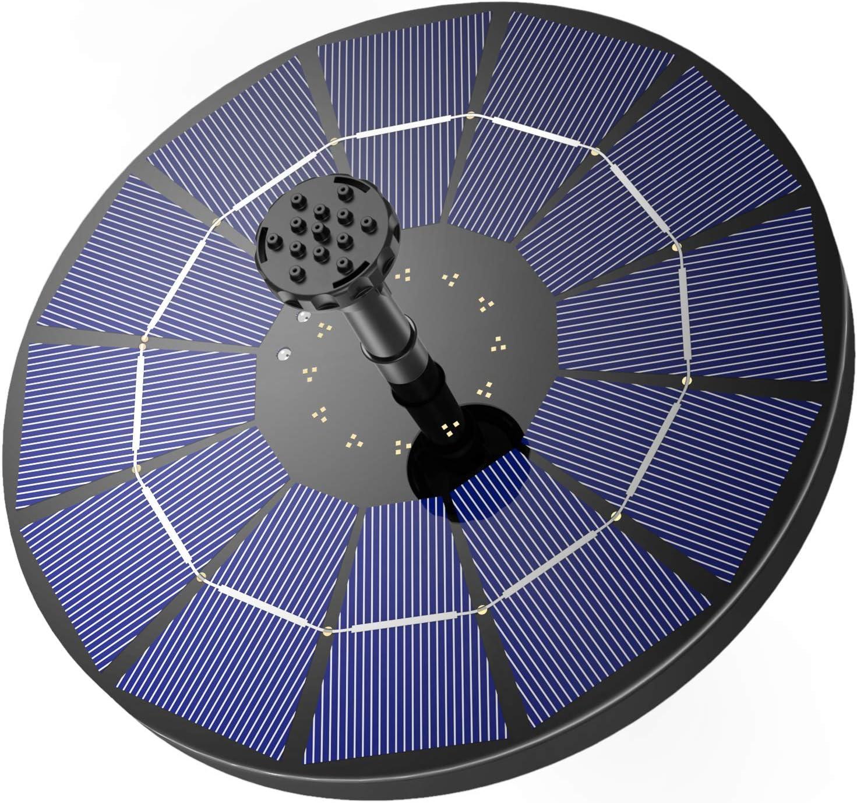 AISITIN 3.5W 1500mAh Solar Fountain Pump $15.01 Coupon
