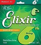 Elixir エリクサー ベースバラ弦 NANOWEB ニッケル 6弦用 Long Scale .032 #15332 【国内正規品】