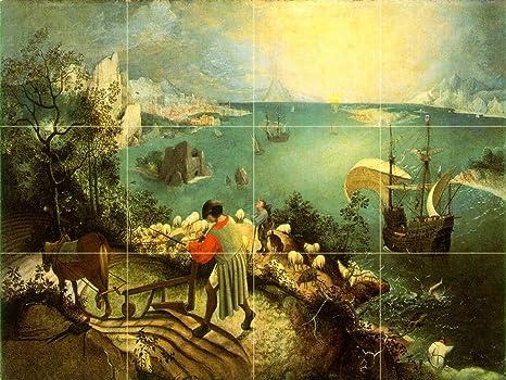 Paesaggio con la caduta di icaro by pieter bruegel il vecchio