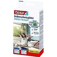 tesa Pollenhor - Transparant pollengaas voor allergieën – Voor naar binnen draaiende ramen - Snijdbaar en incl…